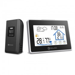 DG-TH8380 wireless touch screen thermometer indoor / outdoor