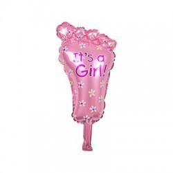 Baby boy & girl foil balloon