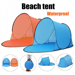 Portable waterproof camping & beach automatic tent