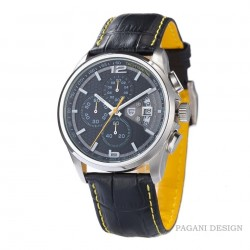 PAGANI DESIGN - luxury quartz watch with leather band