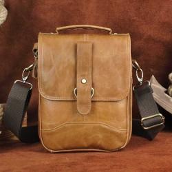 Crossbody & shoulder leather bag