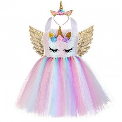 Unicorn costume - dress for girls