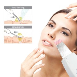Ultrasonic face cleaner - massager - peeling - lifting