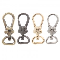 Metal lobster swivel clasp - hooks - clip buckle keyrings