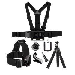 Octopus tripod - chest band mount for GoPro Hero 7 6 5 EKEN H9 Xiaomi Yi 4KGS65
