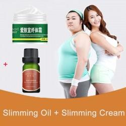 Slimming essential oil - body shaping - fat burning - anti cellulite massage oil & cream