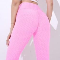 Slimming pants - anti-cellulite leggings with push up - high waist premis