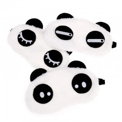 Panda sleeping mask - eye mask - soft cotton