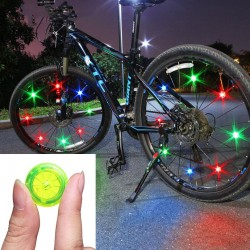 Bike wheel spoke light - warning LED lamp - waterproof - TL2411
