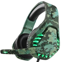 3.5mm gaming headset - headphones with microphone & Led light