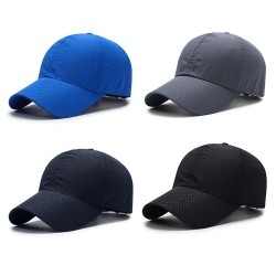 Mesh baseball cap - unisex