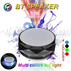 Wireless Bluetooth speaker with LED - support TF card