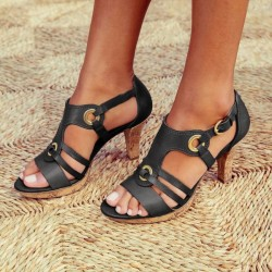 Fashionable gladiator sandals