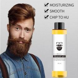 Organic beard oil - moisturizing - smoothing - 30 ml